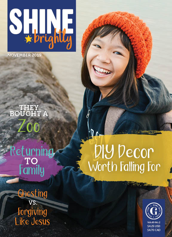 Shine Brightly Magazine Subscription  Gems Girls Clubs-9919